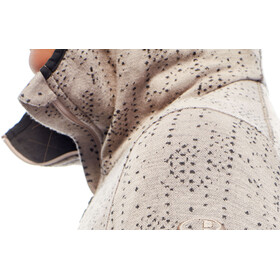 Icebreaker W's Away Showers LS Zip Hood pumice/monsoon